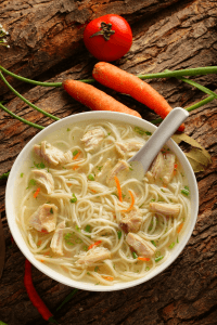 Hangover Crusher Chicken Noodle Soup